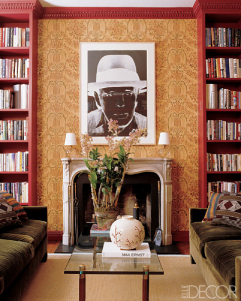 Upper East Side Townhouse Decorated by Wayne Nathan and Carol Egan, Elle Decor Nov 2006
