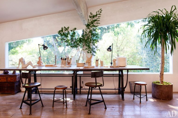 Home of Patrick Dempsey - Estee Stanley Interior Design - Architectural Digest
