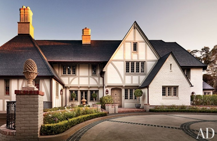 1930 HALF-TIMBERED DWELLING - Beverly Hills, CA